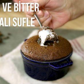 kahveli ve bitter çikolatalı sufle şeflerden tarifler