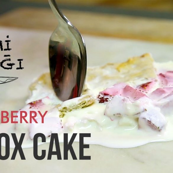 strawberry icebox cake acemi mutfağı