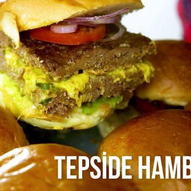 tepside hamburger şeflerden tarifler