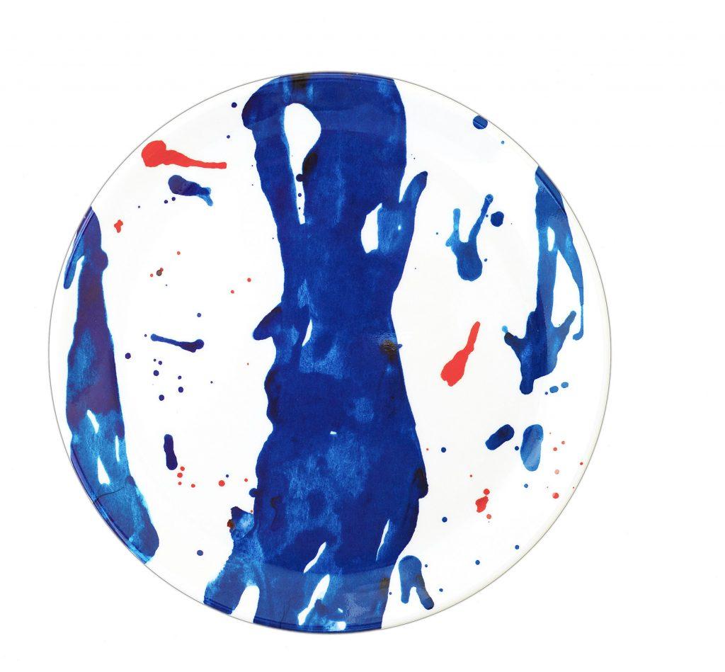 FernCo Blue Art Collection Buyuk Tabak Seti 69 TL